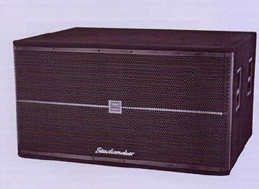 18.2 Bass Bin Passive PA Wooden Speaker System