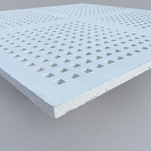 PERFONA G - Gypsum Perforated Acoustic Panel - METTRIX Perforation