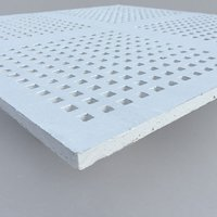 Gypsum Perforated Acoustic Panel - METTRIX Perforation