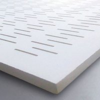 PERFONA G - Gypsum Perforated Acoustic Panel - INCISE Perforation