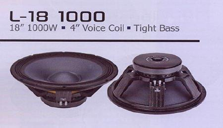 L18 1000 Tight Bass Speaker