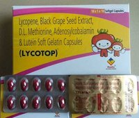 Antioxidant Capsule (Lycopene,Black Grape Seed Extract,D.L.Methionine,Adenosylcobalamin,Lutein)