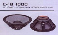C18 1000 High Power Bass Speaker