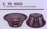 C15 400 Mid Bass Speaker