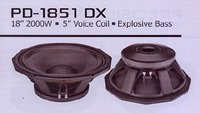 PD 1851 DX Explosiv Bass Speaker