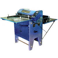 Sticker Half Cutting Creasing & Perforating Machine