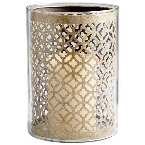 Brass Guilded Silk Votive