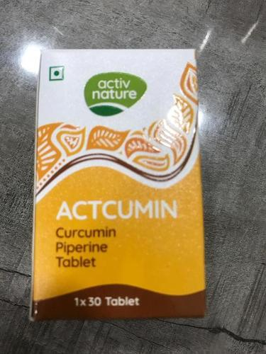 Curcumin Piperine Tablets