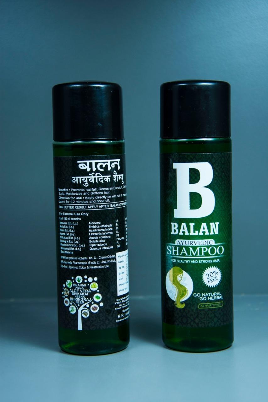 Balan Ayurvedic shampoo