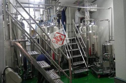 Herbal Gel Toothpaste Manufacturing Plant