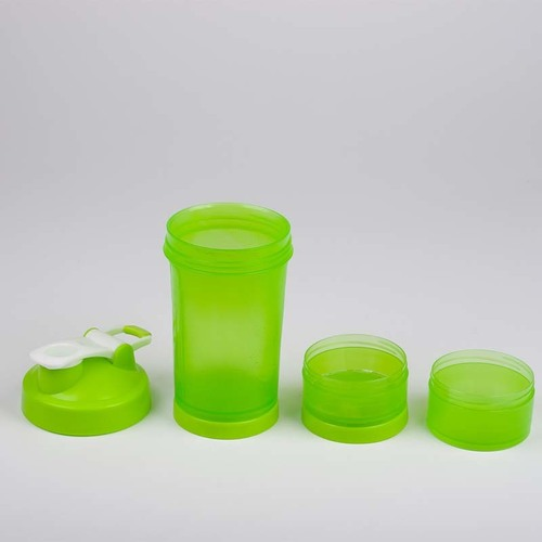 Shaker Triple Compartment