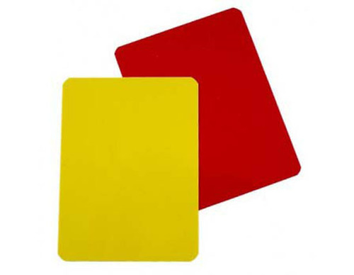 Referee Card