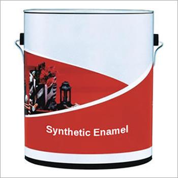 Synthetic Enamel Paint Application: Industrial