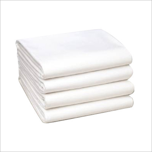 Hospital White Cotton Bed Sheet