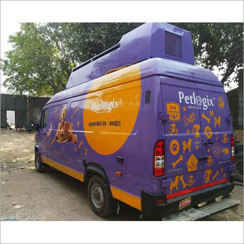 Pet Grooming Van