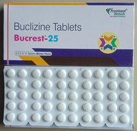 Buclizine 25 mg & 50 mg