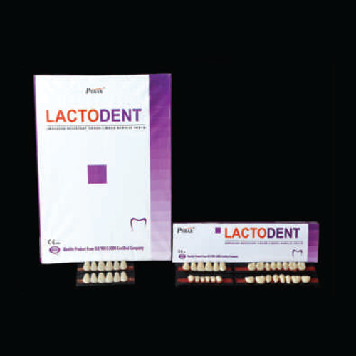 Lactodent Acrylic Teeth