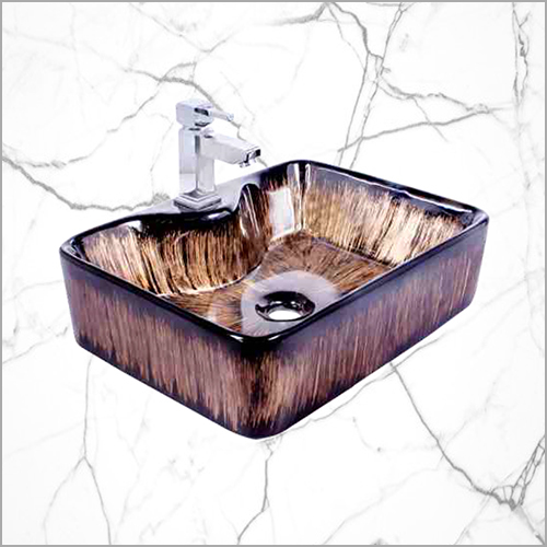 Table Top Wash Basin With Tap Hole