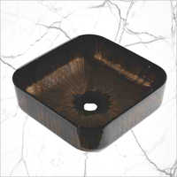 Black Square shape Washing Basin