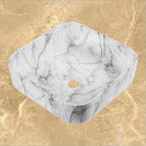 White square shape Table Top