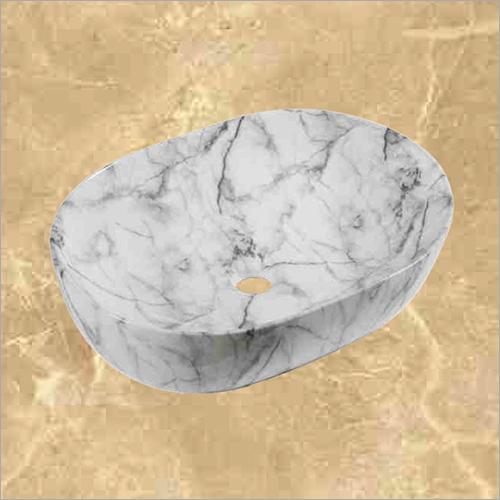 Oval Shape White Wash Basin