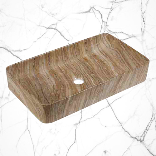 Rectangular Shape Brown Table Top