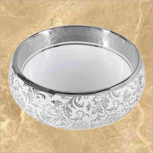 Silver And Gold Designer Wash Basin