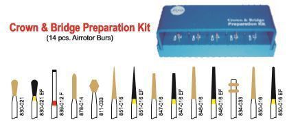 Crown and Bridge Preparation Kit