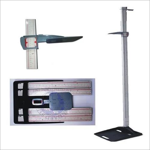 Stadiometer with weight machine
