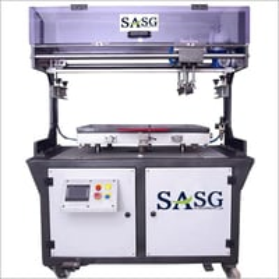 Pneumatic Flat Screen Printing Machine