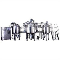 Herbal Dental Paste Gel Toothpaste Manufacturing Machine