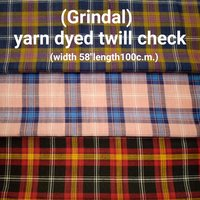 Grindal yarn dyed twill check