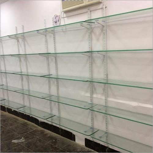 Glass Display Wall Rack