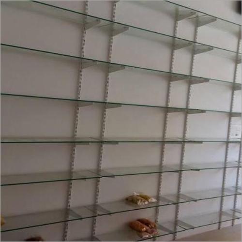 Wall Mounted Retail Glass Display Rack