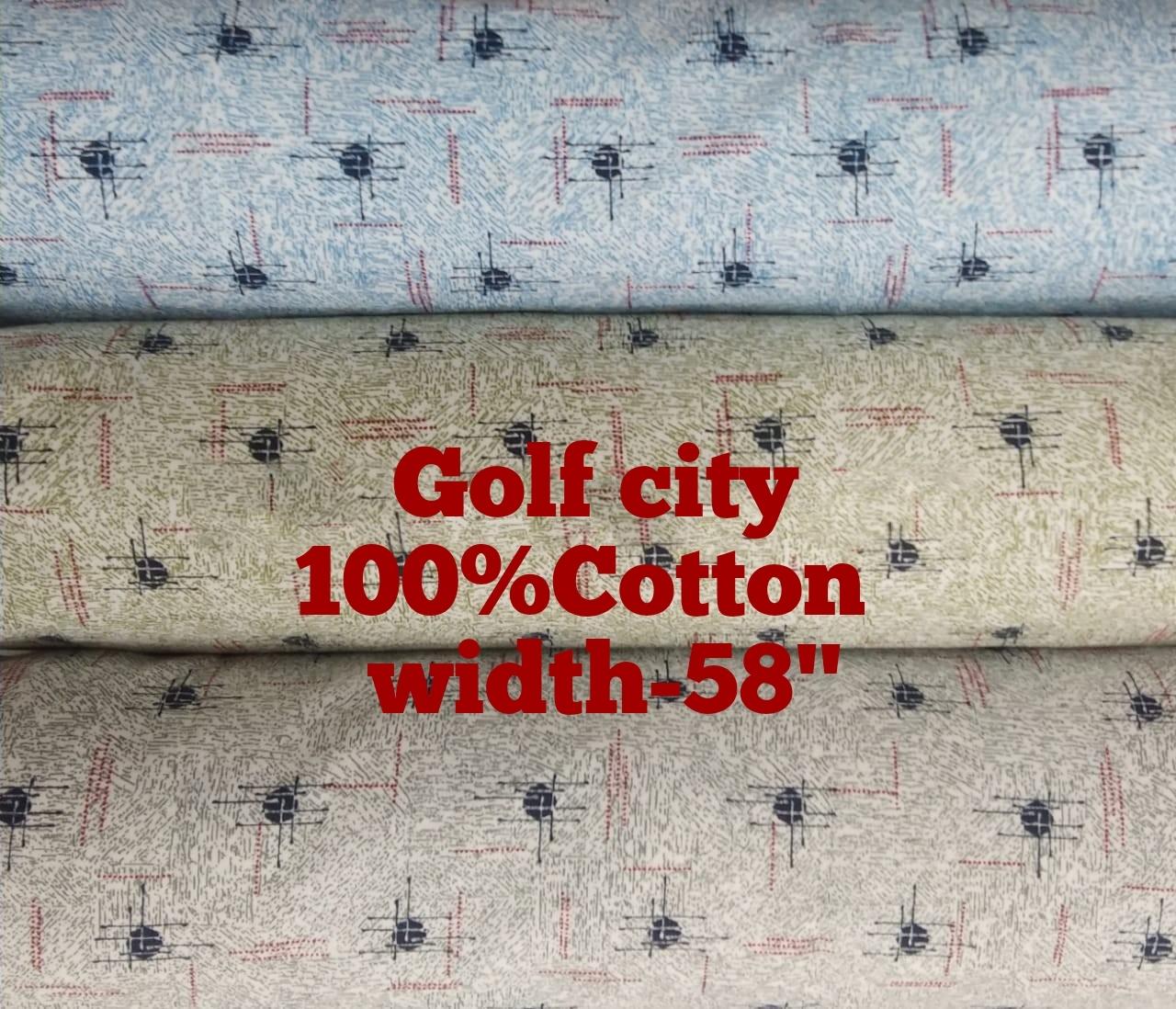 Printed Pure Cotton Fabric