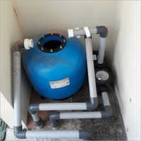 Commercial Swimming Pool Filtration Plant