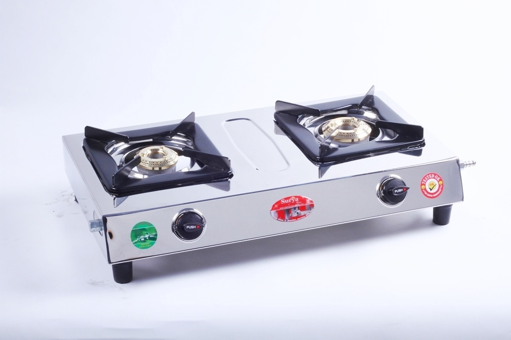 2 BURNER MINI GAS STOVE