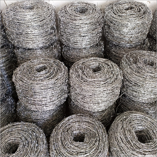 Single Strand GI Barbed Wire