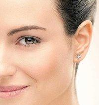 Gold & Diamond Stud Earring