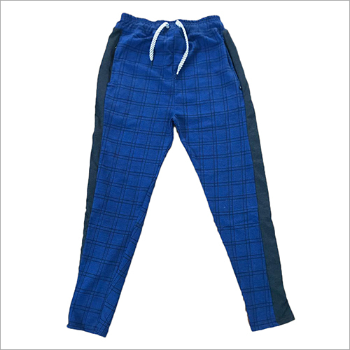 Mens Check Cotton Lower