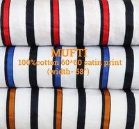 MUFTI 100% cotton 60*60 satin twill discharge print