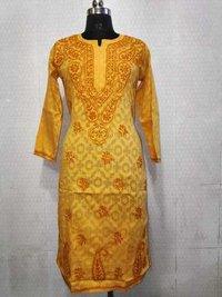 Jaikart Cotton Handmade Long Kurti