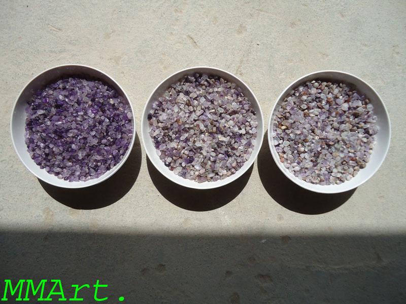 Wholesale amethyst cluster natural original crystal amethyst polished gravels
