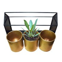 Ascent Homes Metal Hut Shape Planter