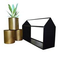 Ascent Homes Metal Hut Shape Planter