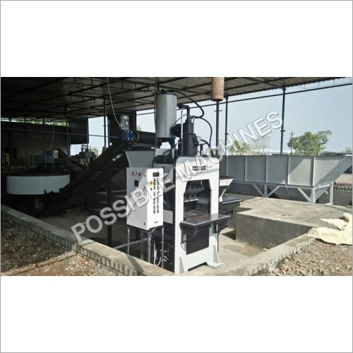 M50 Grade Paver Block Making Machine