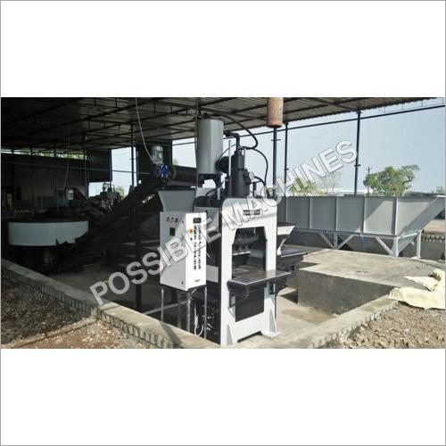 M-50 Grade Paver Blocks Making Machine Plant With Batching System (Single Production Line)