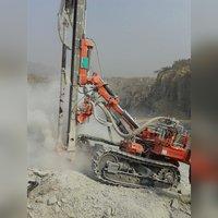 FMT 100 Pneumatic Crawler Drill