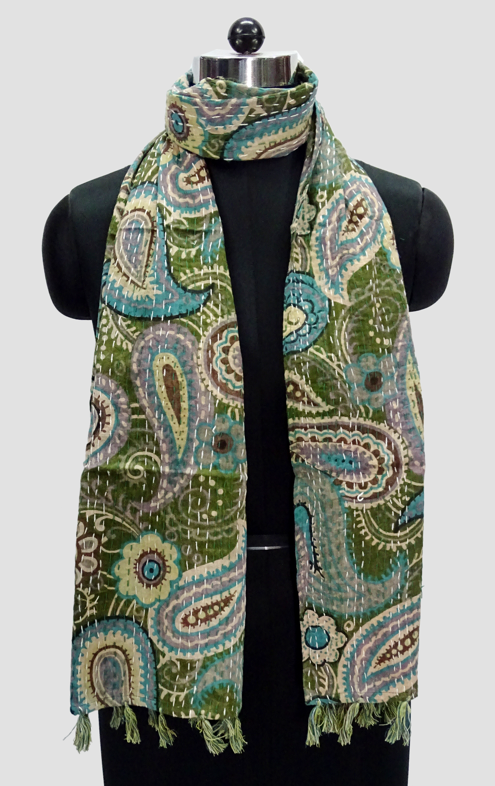 Kantha Printed Allover Scarves