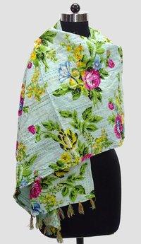 Kantha Printed Allover Scarves